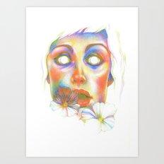 Never complete (screen print) Art Print