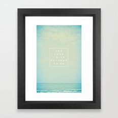 The Love I Give II Framed Art Print