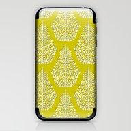 SPIRIT Lime White iPhone & iPod Skin
