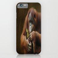 Orangutan And Butterfly iPhone 6 Slim Case