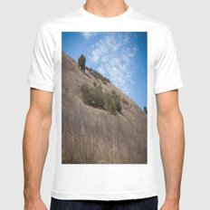 A Field Summer Mens Fitted Tee White SMALL