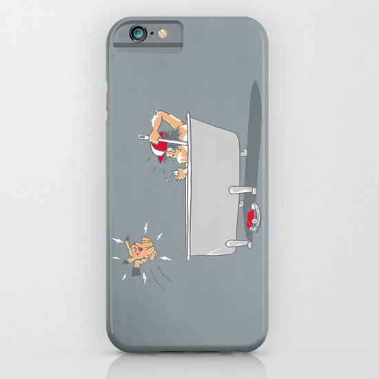 Bathtub eletrocution iPhone & iPod Case