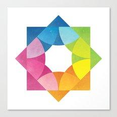 Blending Logo Canvas Print