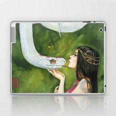 The White Snake Laptop & iPad Skin