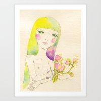 Dear. Spring Art Print