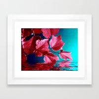 red wine IX Framed Art Print
