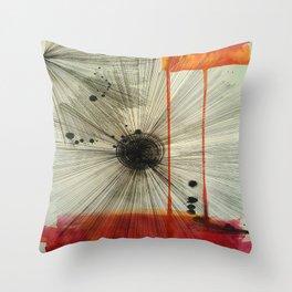 Throw Pillow - Black Hole Sun - Ducky B