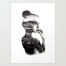 Vagabond // Fashion Illustration Art Print