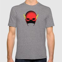 The Cowl: The Flash Mens Fitted Tee Tri-Grey SMALL