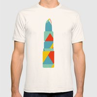 Lipstick Hues Mens Fitted Tee Natural SMALL