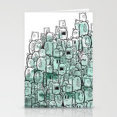 People of few Stationery Cards