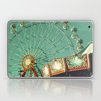 No Cars Go, Ferris Wheel and Carousel Laptop & iPad Skin