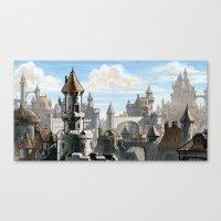 Blue Sky Kingdom Canvas Print