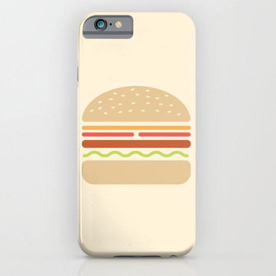#62 Hamburger iPhone & iPod Case