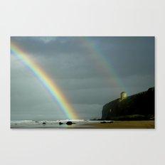 Mussenden Rainbow Canvas Print