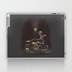 Death Rides in the Night Laptop & iPad Skin