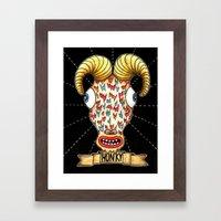 ¨Hunky¨ Framed Art Print