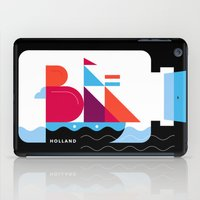 Postcards from Amsterdam / Bottle Ship iPad Case