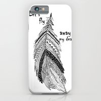 Let's fly away iPhone 6 Slim Case