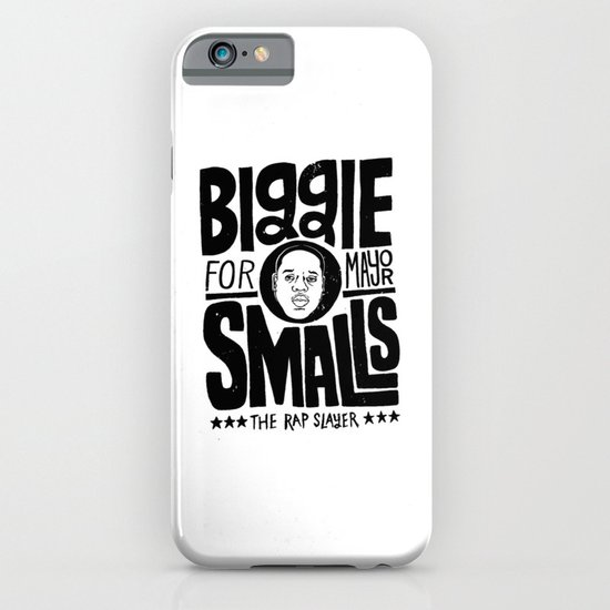 Biggie Smalls for Mayor iPhone & iPod Case