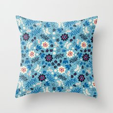 Fresh Blossoms  Throw Pillow