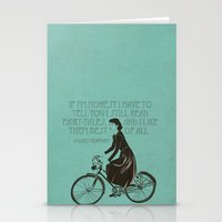 Audrey Always Knows What… Stationery Cards