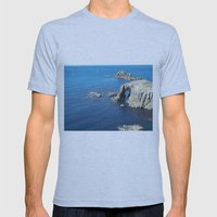 Cornwall Mens Fitted Tee Athletic Blue SMALL