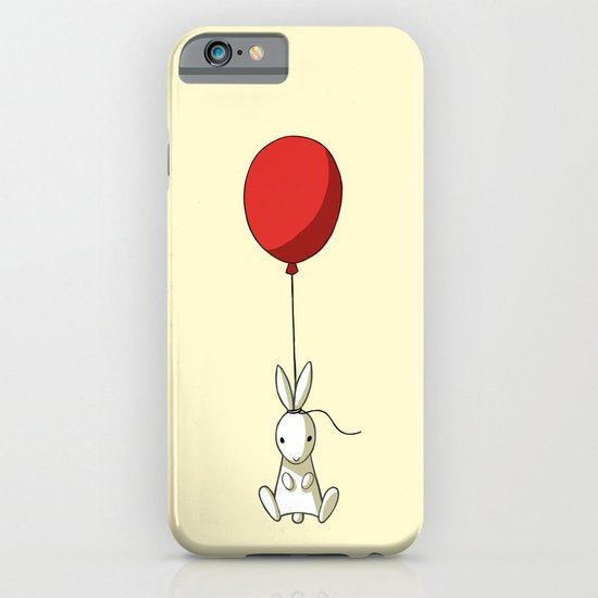 Balloon Bunny iPhone & iPod Case