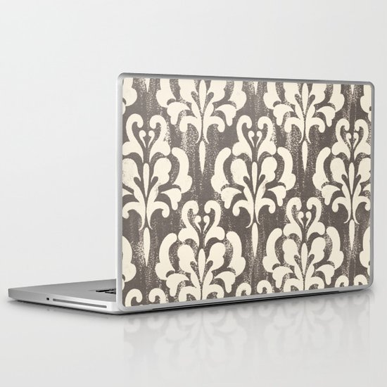 Damask1 Laptop & iPad Skin