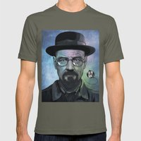Heisenberg, Say My Name! Mens Fitted Tee Lieutenant SMALL