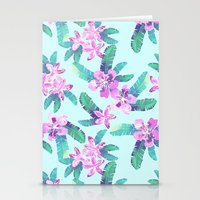 Tahitian Garden {D} Stationery Cards