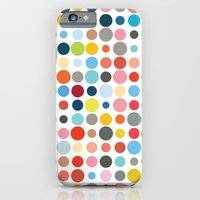 Tangled Up In Colour iPhone 6 Slim Case