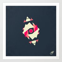 Satellite 3 Art Print