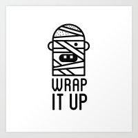 Wrap It Up Art Print
