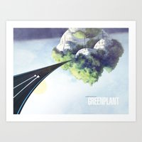 Green Plant - F-Zero GP Art Print