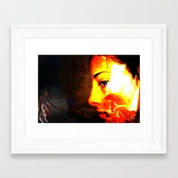 Emotions Within Framed Art Print