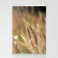 I Love Grass. Stationery Cards