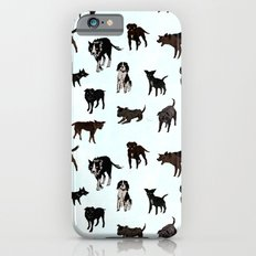 Dog pattern iPhone 6s Slim Case