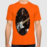 Tom Morello - Rage Against the Machine /AUDIOSLAVE Mens Fitted Tee Orange SMALL