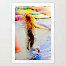 Kinetic Youth Art Print