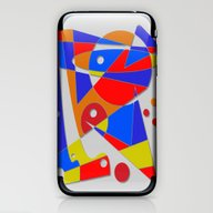 Abstract #89 iPhone & iPod Skin
