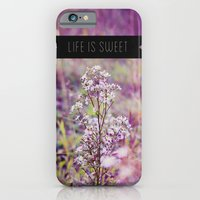 Life Is Sweet. iPhone 6 Slim Case