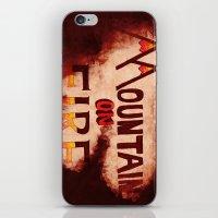 Mountain On Fire iPhone & iPod Skin
