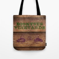 Dionysus Vineyards Tote Bag