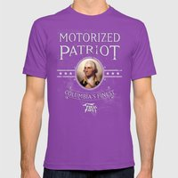 Bioshock Motorized Patri… Mens Fitted Tee Ultraviolet SMALL