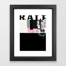 ROUGHKut#042516 Framed Art Print
