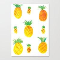 Pineapple Goodness Canvas Print