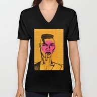 Grace Jones. Unisex V-Neck