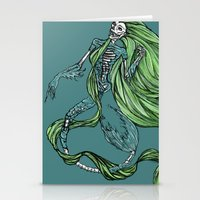 Death Of A Siren Stationery Cards