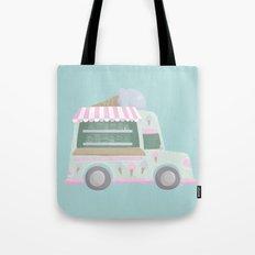 Ice Cream Truck Tote Bag